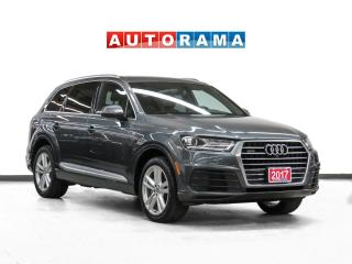 Used 2017 Audi Q7 Quattro Technik Nav Leather PanoRoof Backup Cam for sale in Toronto, ON