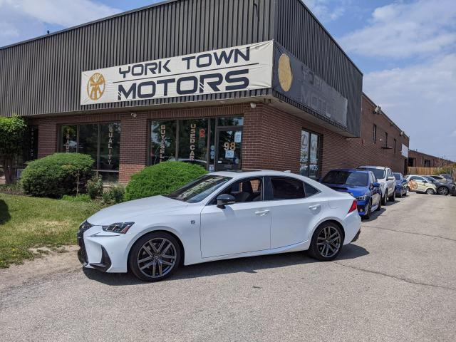 2019 Lexus IS BLACK LINE SPECIAL EDITION/F-SPORT 2/1 OWNER