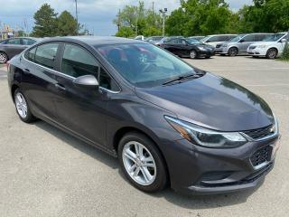 Used 2017 Chevrolet Cruze LT ** HTD SEATS, BACK CAM, AUTOSTART  ** for sale in St Catharines, ON