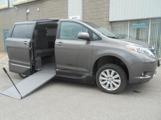 Used 2017 Toyota Sienna XLE- Wheelchair Accessible Side Entry-Manual for sale in London, ON