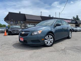 Used 2012 Chevrolet Cruze 4dr Sdn SAFETY PW PL PM B-TOOTH AUTO SEDAN GAS SAV for sale in Oakville, ON