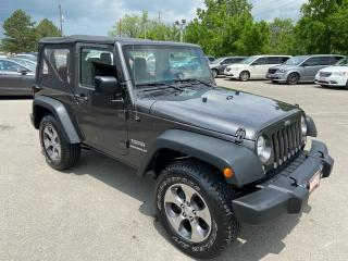 Used 2016 Jeep Wrangler Sport ** 4X4, 5 SPEED MANUAL, A/C, CRUISE ** for sale in St Catharines, ON