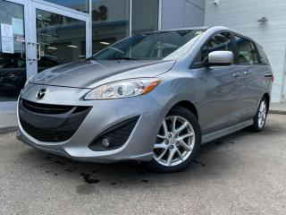 Used 2012 Mazda MAZDA5 GT- LEATHER, SUNROOF, BOSE, LOW KMS! GREAT VALUE for sale in Edmonton, AB