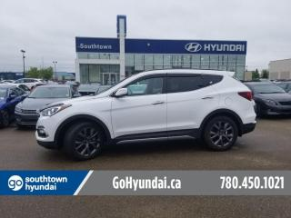 Used 2018 Hyundai Santa Fe Sport ULTIMATE/PANO ROOF/HEADS UP/COOLED SEATS for sale in Edmonton, AB