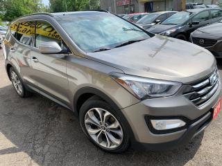 Used 2014 Hyundai Santa Fe Sport Limited/NAVI/CAMERA/LEATHER/ROOF/LOADED/ALLOYS for sale in Scarborough, ON