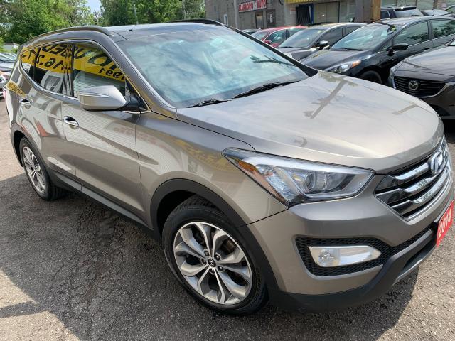 2014 Hyundai Santa Fe Sport Limited/NAVI/CAMERA/LEATHER/ROOF/LOADED/ALLOYS