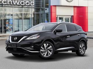 New 2021 Nissan Murano SL for sale in Winnipeg, MB