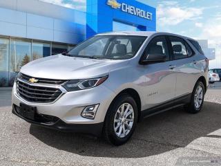 Used 2018 Chevrolet Equinox LS Apple CarPlay | Heated Seats | Rear View Camera for sale in Winnipeg, MB
