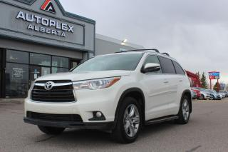 Used 2014 Toyota Highlander LIMITED  for sale in Calgary, AB