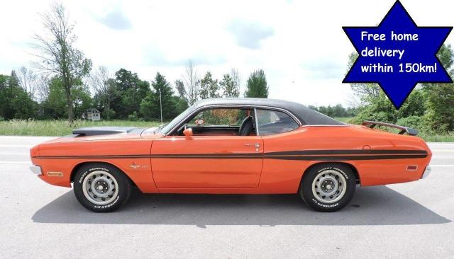 1971 Dodge Demon 340 4speed Factory Orange H code car