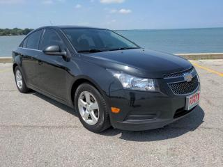 Used 2014 Chevrolet Cruze 2LT Heated Leather Bluetooth Rear Cam OnStar for sale in Belle River, ON