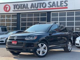 Used 2014 Volkswagen Touareg R-LINE   NAVI   XENON   PANO for sale in North York, ON
