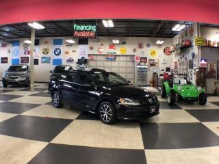 Used 2016 Volkswagen Jetta Sedan 1.4L COMFORTLINE AUTO A/C H/SEATS BACKUP CAM SUNROOF 94K for sale in North York, ON