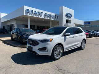 Used 2020 Ford Edge Titanium for sale in Brantford, ON