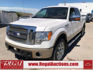 Used 2012 Ford F-150 KING RANCH SUPERCREW 4WD 3.5L for sale in Calgary, AB