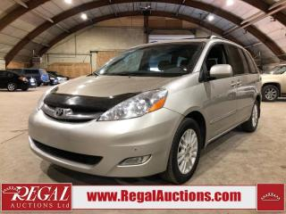 Used 2008 Toyota Sienna Limited 4D Wagon for sale in Calgary, AB