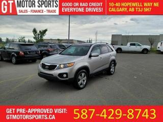 Used 2013 Kia Sorento EX V6 AWD | $0 DOWN - EVERYONE APPROVED!! for sale in Calgary, AB