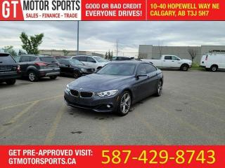 Used 2015 BMW 4 Series 428i xDrive Gran Coupe | $0 DOWN EVERYONE APPROVED for sale in Calgary, AB