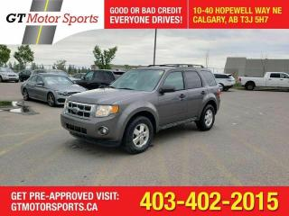 Used 2012 Ford Escape XLT 4WD | $0 DOWN - EVERYONE APPROVED! for sale in Calgary, AB