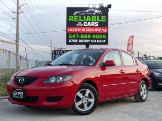 Used 2006 Mazda MAZDA3 GS,ONE-OWNER,LOADED,CERTIFIED,NO-ACCIDENT,AUTOMATI for sale in Mississauga, ON