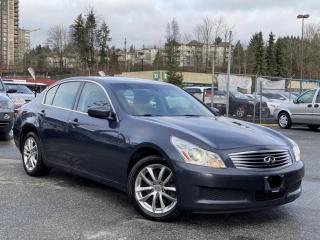 Used 2009 Infiniti G37X  LUXURY,AWD,NO-ACCIDENT,CERTIFIED,FULLY LOADED, for sale in Mississauga, ON