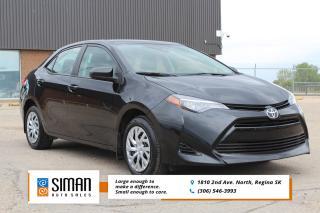 Used 2018 Toyota Corolla LE LOW KM FACTORY POWERTRAIN WARRANTY for sale in Regina, SK