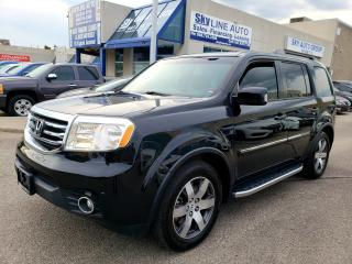 Used 2012 Honda Pilot Touring NAVIGATION|CAMERA|8 PASSENGER|CERTIFIED for sale in Concord, ON