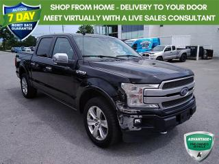 Used 2018 Ford F-150 Platinum | NAVI | 360 CAMERA | ACTIVE PARK ASSIST | HEATED REAR SEATS | 20
