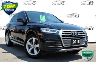 Used 2018 Audi Q5 2.0T Progressiv ONE OWNER NO ACCIDENTS NAVIGATION AWD SUNROOF  CERTIFIED for sale in Hamilton, ON