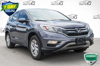 Used 2016 Honda CR-V EX AWD MID SIZE SUV for sale in Innisfil, ON