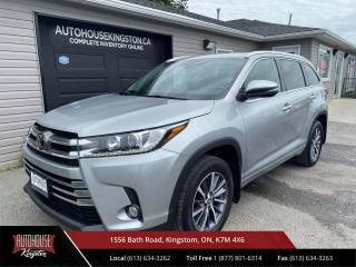 Used 2018 Toyota Highlander XLE 8 Passenger - Heated Leather - Power Sunroof! for sale in Kingston, ON