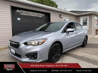 Used 2019 Subaru Impreza Convenience 5 Speed Manual! All Wheel Drive - Apple Carplay - Android Auto! for sale in Kingston, ON