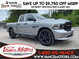New 2021 RAM 1500 Classic Night Edition Sub Zero 4x4...V8*HTD SEATS*TOW! for sale in Bancroft, ON