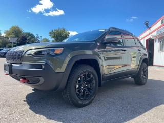 New 2021 Jeep Cherokee Trailhawk Elite for sale in Mitchell, ON