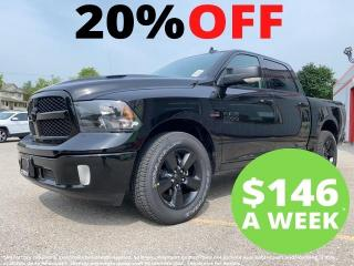 New 2021 RAM 1500 Classic SLT | Black Appearance Group | Heated Seats | Remo for sale in Mitchell, ON