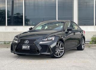 Used 2017 Lexus IS 300 F Sport|1 Owner|NO ACCIDENT for sale in Mississauga, ON