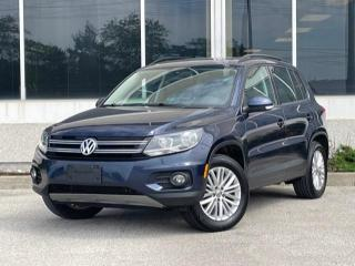 Used 2016 Volkswagen Tiguan 4MOTION Navi Sunroof NO ACCIDENT for sale in Mississauga, ON