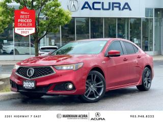 Used 2020 Acura TLX 3.5L SH-AWD w/Elite Pkg A-Spec for sale in Markham, ON
