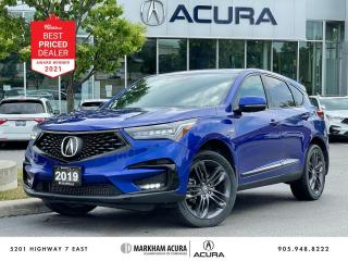 Used 2019 Acura RDX A-Spec at for sale in Markham, ON