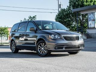 Used 2015 Chrysler Town & Country S PKG |NAV |BACKUP |DVD |POWER DOORS |LOADED |LOW KM for sale in North York, ON