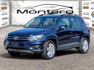 Used 2016 Volkswagen Tiguan 4MOTION LEATHER MOONROOF for sale in North York, ON