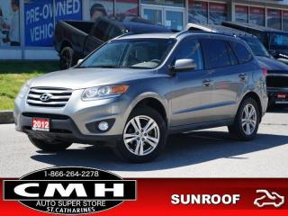 Used 2012 Hyundai Santa Fe GL  BLUETOOTH ROOF HTD-SEATS 18-AL for sale in St. Catharines, ON