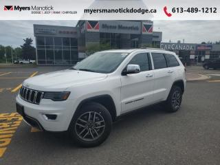 New 2021 Jeep Grand Cherokee Limited  - Navigation - $330 B/W for sale in Ottawa, ON
