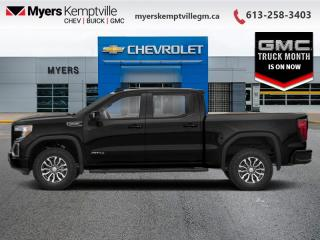 New 2021 GMC Sierra 1500 AT4  - SIriusXM for sale in Kemptville, ON