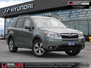 Used 2016 Subaru Forester 2.5i Convenience  -  Bluetooth - $156 B/W for sale in Nepean, ON