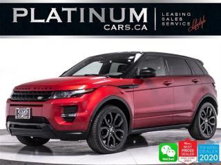 Used 2015 Land Rover Evoque Dynamic, AWD, NAV, CAM, HEATED, PANO, BLIND SPOT for sale in Toronto, ON