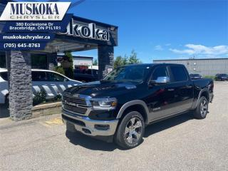 Used 2019 RAM 1500 Laramie  - One owner - Local - Trade-in for sale in Bracebridge, ON