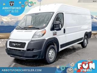 Used 2020 RAM ProMaster Cargo 3500 High Roof Ext 159  - $407 B/W for sale in Abbotsford, BC