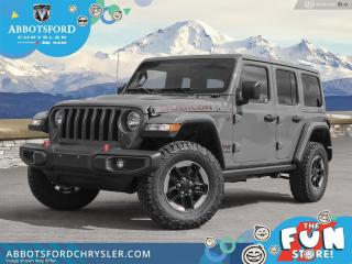 New 2021 Jeep Wrangler Rubicon Unlimited  - Leather Seats - $576 B/W for sale in Abbotsford, BC