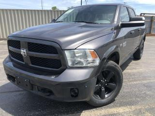 Used 2017 RAM 1500 SLT OUTDOORSMAN CREW 4WD for sale in Cayuga, ON
